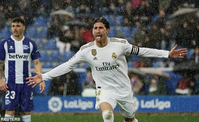 Alaves 1 2 Real Madrid Dani Carvajal Sends Real Madrid