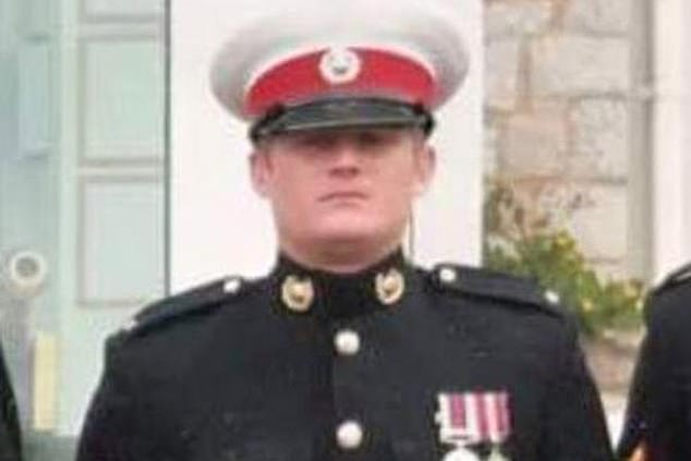 Help: The Spice Girl, 44, has said more must be done to aid those in the armed forces dealing with the condition in the wake of 31-year-old Corporal Ash Nickles' (pictured) death