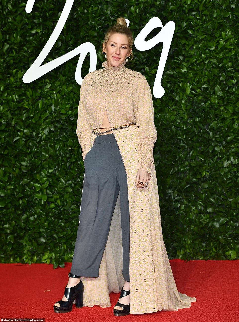 The British Fashion Awards is famous for its uber-stylish and star-studded guestlist, but this year it seems a number of celebrities made some questionable style choices. Ellie Goulding (pictured) led the way for those who were worst dressed at tonight's Fashion Awards at the Royal Albert Hall