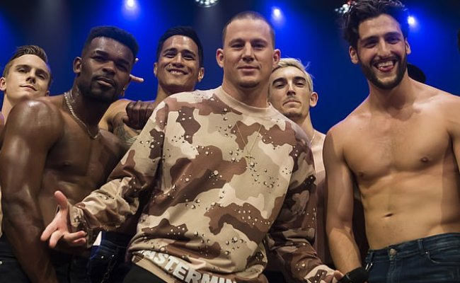 Channing Tatum Announces Huge 162 Show Magic Mike Live