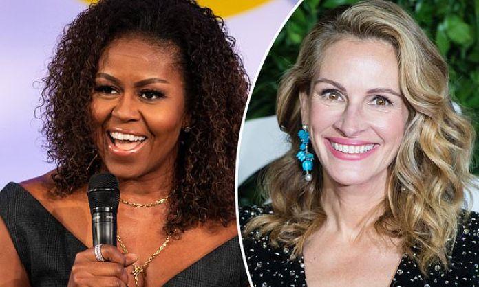 """Resultado de imagen de Julia Roberts Michelle Obama"""""""