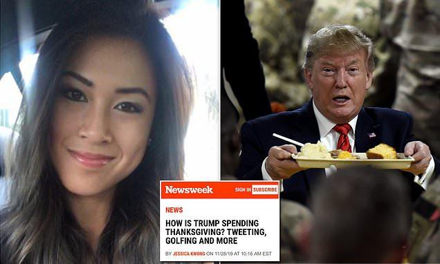 Newsweek demotes editor after firing reporter over false Trump story