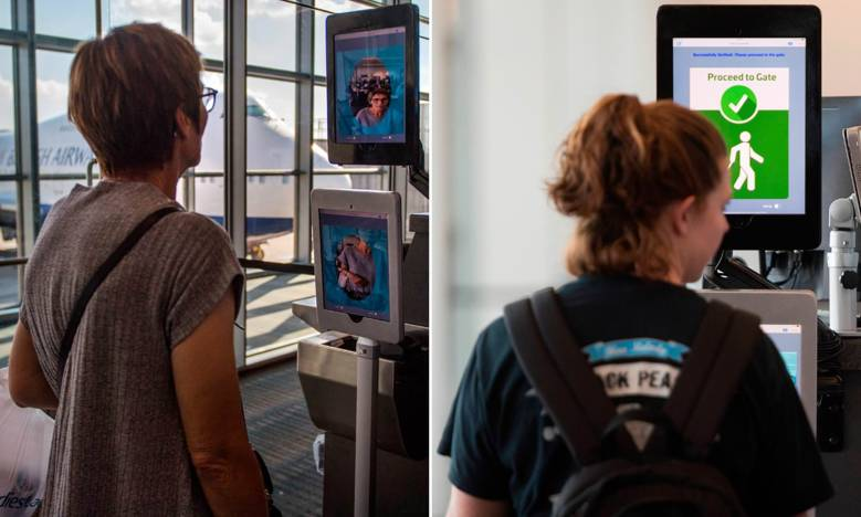 Image result for US homeland security to force all travelers to undergo face scans when leaving or entering the United States