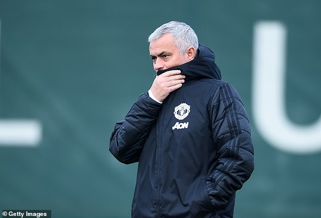 The Portuguese insisted that he reflected fondly upon his time as boss at Old Trafford