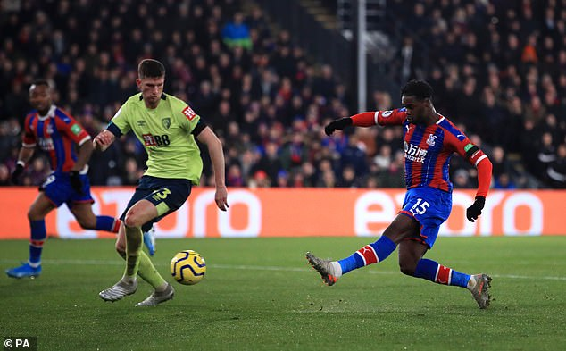 Schlupp raced into the area before rifling an effort past Aaron Ramsdale from 12 yards out