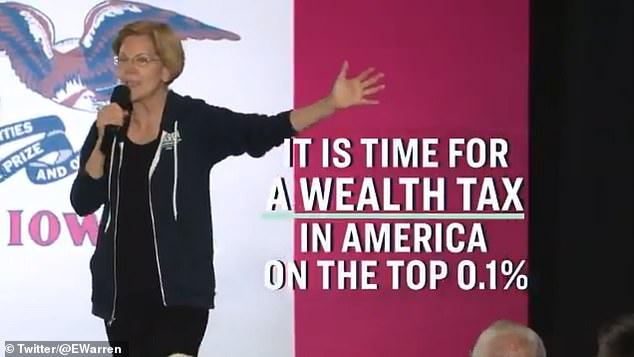 Sen. Elizabeth Warren has been proposing a 2 percent wealth tax, which Michael Bloomberg is against