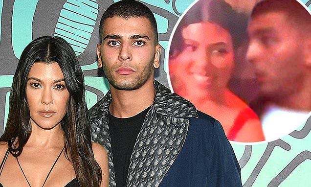 Kourtney Kardashian and her on-off boyfriend Younes ...