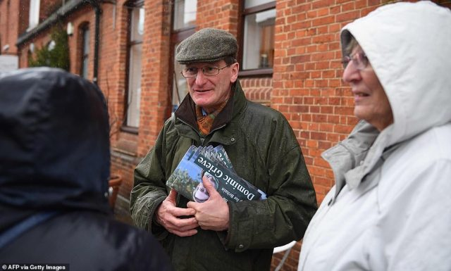 Independent candidate:Ex-Attorney General Dominic Grieve (pictured on the campaign trail) won by a huge majority last time – but now the arch-Remainer is standing against the Tories as an independent in Beaconsfield