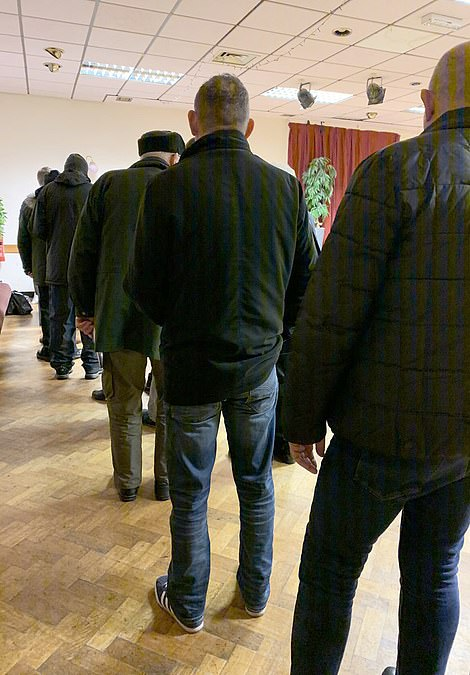 More than 100 people were queuing to vote in Ancoats, Manchester, today with delays to vote in nearby Bury too