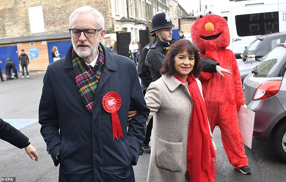 The Labour leader, 70, promised higher public spending, nationalisation of public services, taxes on higher earners and another referendum on Brexit should he gain election