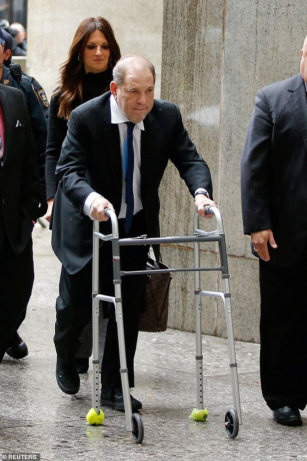 Film producer Harvey Weinstein arrives to New York Supreme Court in New York, U.S., on December 11