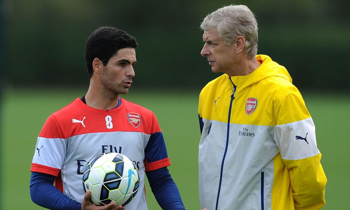Arsene Wenger says he will back Mikel Arteta as Arsenal manager | Daily  Mail Online