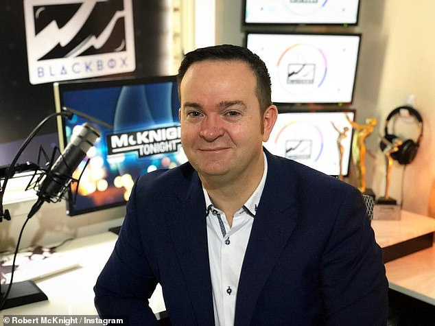 'The biggest problem with the show was a complete lack of chemistry': Media commentator Rob McKnight (pictured) believes the Today show was uninspiring, tired and lacked hosts that 'clicked in the breakfast environment'