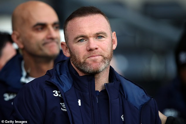 New beginnings: Wayne is looking to set up home after returning from Washington D.C earlier this year to take on a coach role at Derby County (pictured last week)