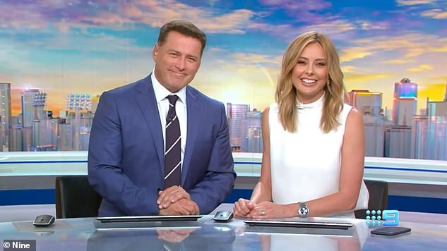 Does he still have the 'it' factor?Karl Stefanovic (L) and fellow incoming host Allison Langdon (R) will begin hosting Today on January 6th