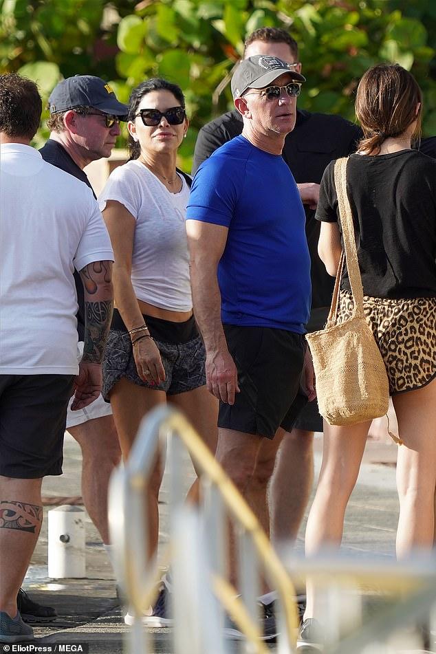 On Sunday, Bezos and Sanchez were spotted with Dasha Zhukova in St Barth
