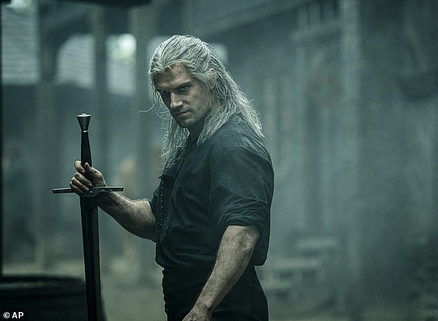 Popular:The eight-part series starring Henry Cavill, 36, has managed to beat the likes of Stranger Things and Peaky Blinders in ratings on the Internet Movie Database (IMDB)