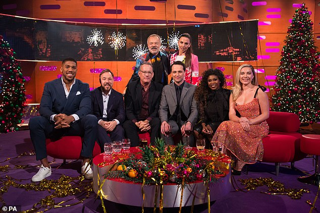 Exciting: The Graham Norton Show, BBC One, 31st December at 10.20pm