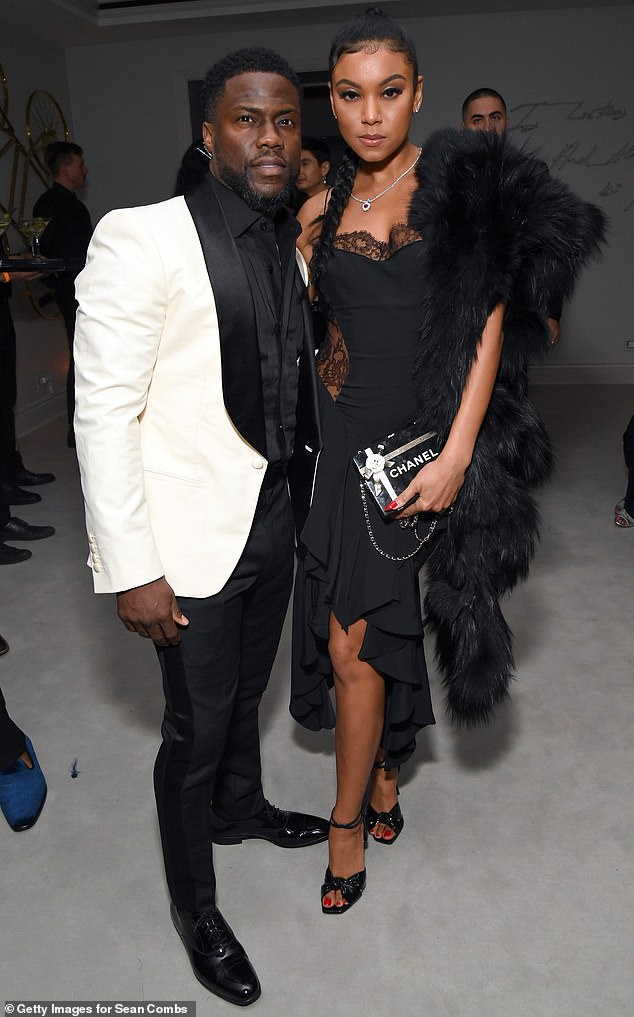 'I know some insecurities are brought on by men': The comedian, 41, touched on his terrifying 2019 car crash, as well as cheating on his wife Eniko (pictured together in 2019)