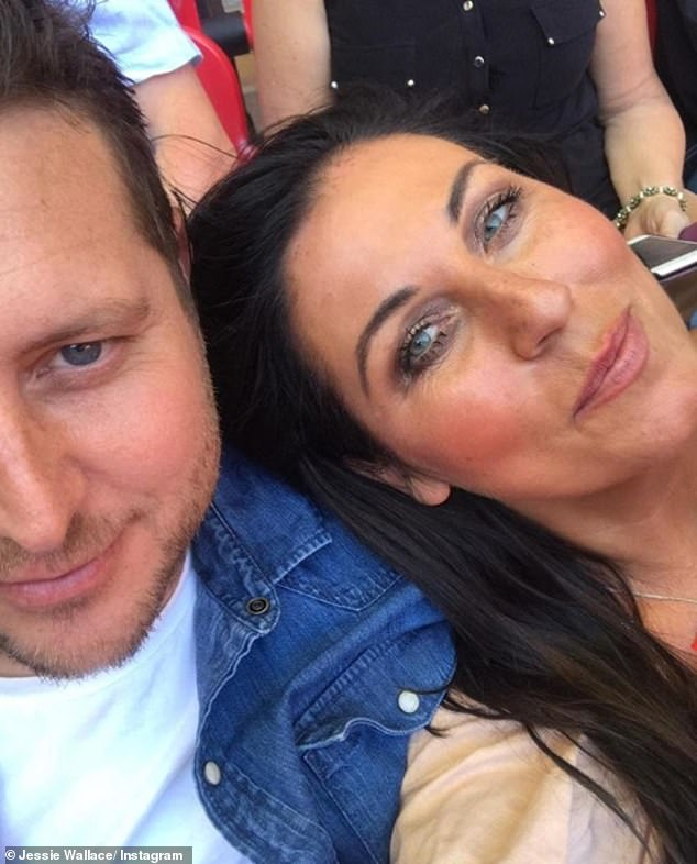 Pics: Jessie shared a number of pictures of herself with greengrocer Paul during their romance