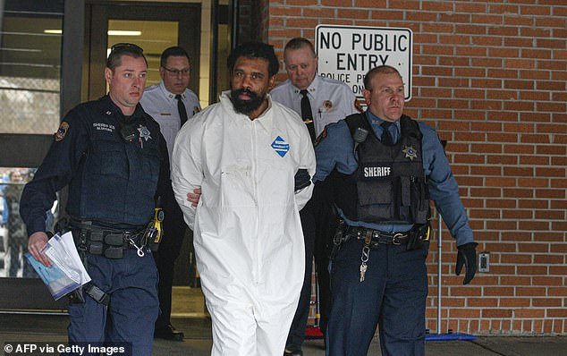 Grafton Thomas, 37, is accused of stabbing five people with a machete inside a rabbi's home as they celebrated the seventh night of Hanukkah in Monsley, New York, late Saturday