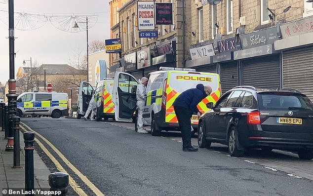 Police sealed off an area surrounding the bank in Batley, West Yorkshire in 2019 after they discovered Mr Badshah's body in a wall cavity