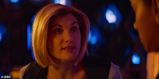 Series return: Doctor Who Series 12 attracted the worst ever ratings in the show's history, despite kicking off on New Year's Day with a heart-stopping twist