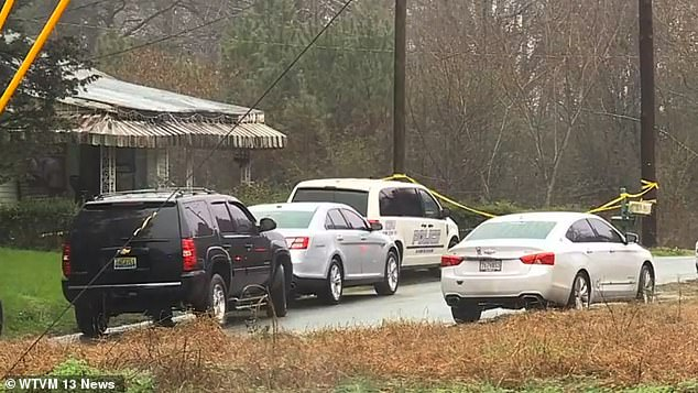 Authorities began searching the empty residence in Hueytown, Alabama (pictured) Thursday, after receiving a tip related to Paighton's disappearance
