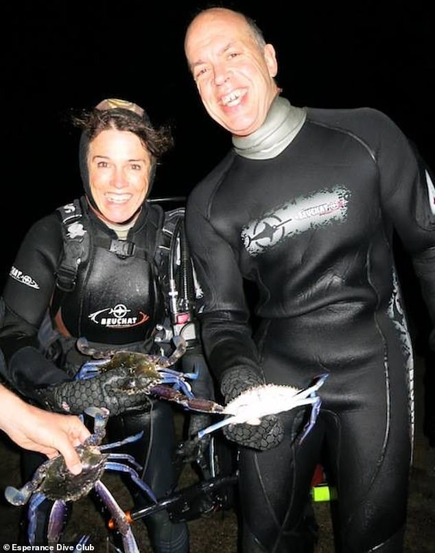 Gary Johnson was attacked and killed by a great white shark on Sunday while his diving partner Karen Milligan was treated for shock