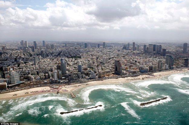 Tel Awiw, znane miasto Izraela, zostało również wyróżnione jako potencjalny cel ataku generała Gholamali Abuhamzeha