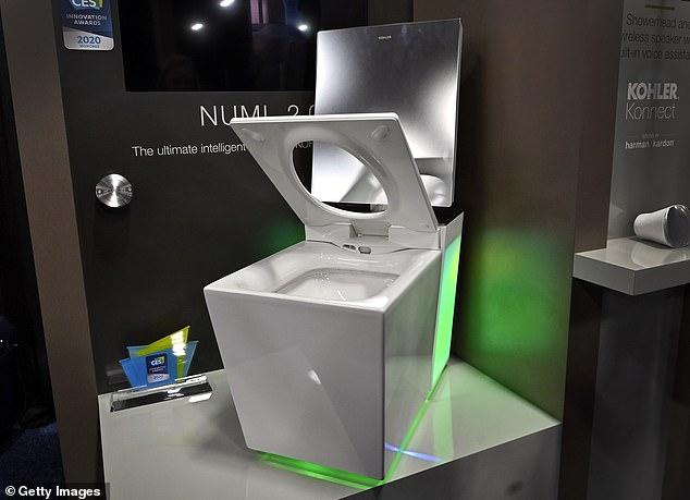 Картинки по запросу smart toilet of startup mateo