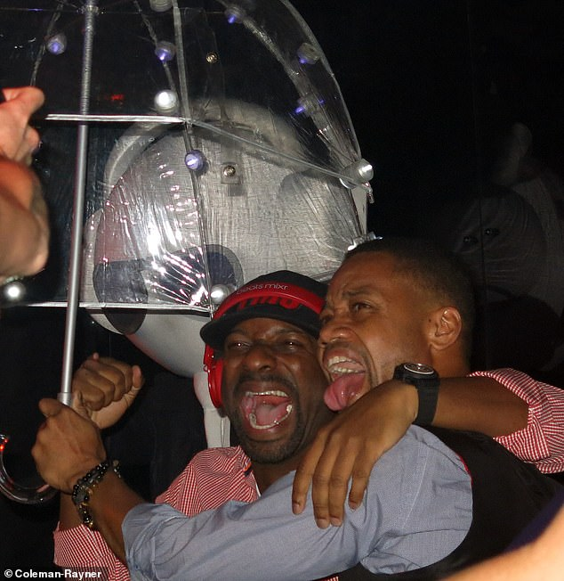 Fonseca exclusively told DailyMailTV Cuba Gooding Jr. has always been 'nuts'. Pictured at a New York's Marquee Nightclub in 2013