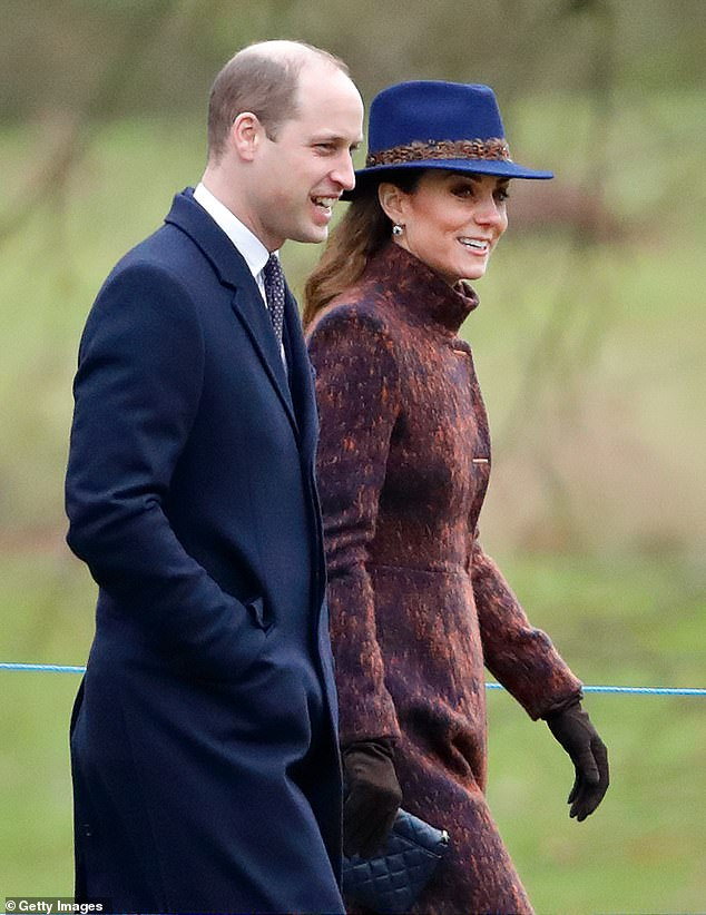 Robert Jobson, author of Diana: Closely Guarded Secret, said Prince William and Kate Middleton, both 37, pictured last weekend, are a 'new-look' Prince Charles and Princess Diana