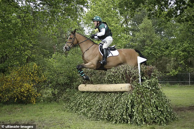 Woodford is also an enthusiastic rider and his hobby is three day eventing