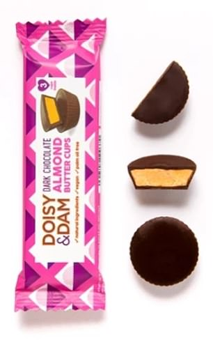 Lower sugar chocolate, such as Doisy & Dam (pictured) are likely to see sales go up this year