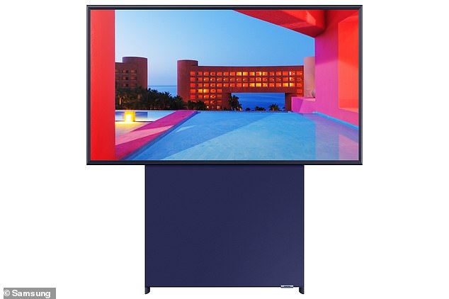 The Samsung Sero TV is a new 43-inch QLED TV that can rotate between landscape and portrait position when synced with a smartphone, allowing users to seamlessly watch video from TikTok and Instagram without any black bars or cropping