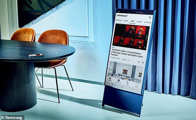 The Sero TV is currently available in Korea for a retail price of around $1,600, and Samsung says the TV will arrive in North America in the second half of 2020