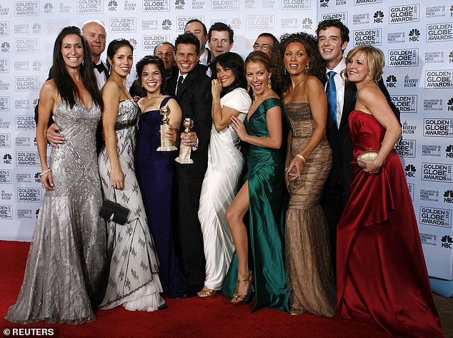 Winners!Silvio served as Ugly Betty's show-runner and head writer. The show picked up two Golden Globes during its run, one for Best Comedy Series and the other for America, Best Actress in a Musical or Comedy (pictured 2007 with the Ugly Betty cast)