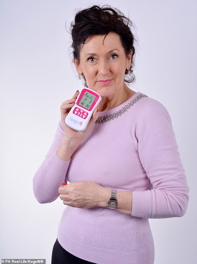 In 2000 she decided to start Kegel8, a venture selling devices to strengthen the pelvic floor, which quickly took off