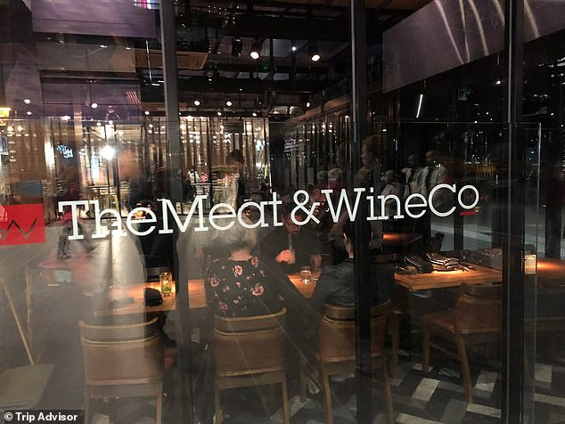 Nabil Maghnie was a fan of Melbourne's Meat & Wine Co on Southbank