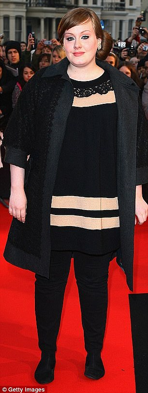 Candido: in 2015, Adele revealed that she had changed to a healthier lifestyle to keep her voice in good condition (pictured in 2008)