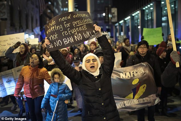 Trump, who had floated banning all Muslims from entering the country during his 2016 campaign, sparking protests and a legal challenge to the ban which was introduced in January 2017