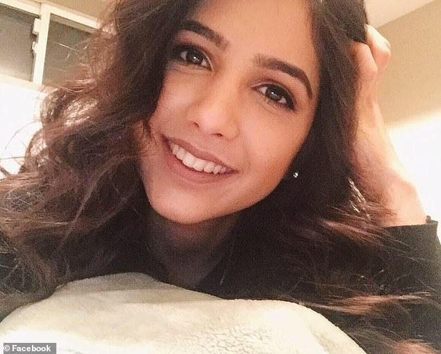 Saba, 21, (pictured) was from Edmonton in Alberta, Canada. More than 60 Canadians died in the crash