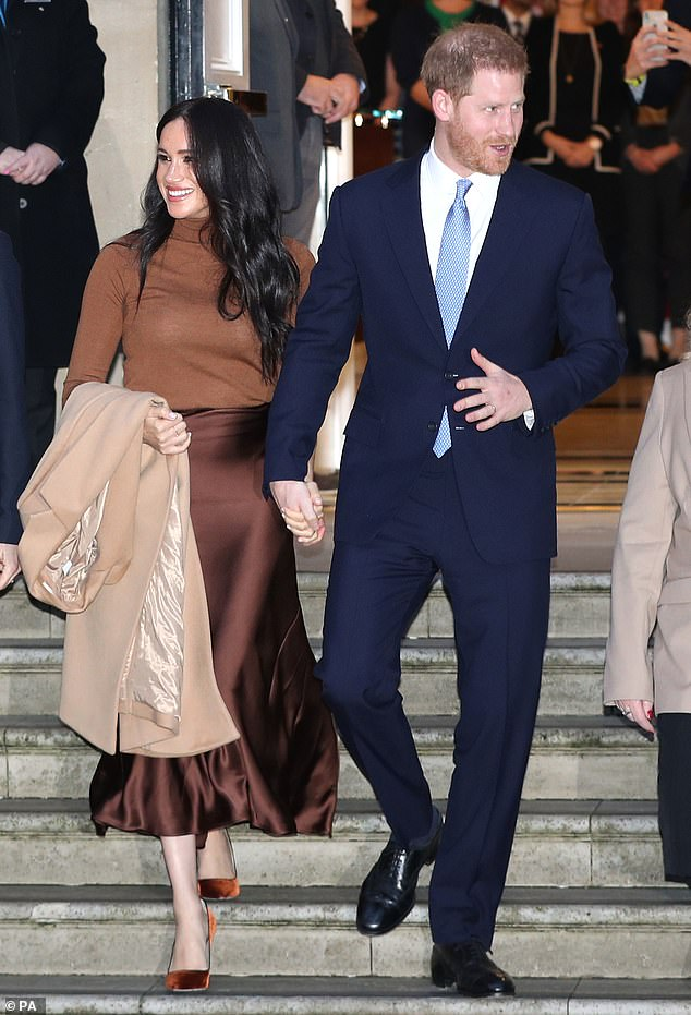 The couple, who do not want to receive public funds, will have a transition period in which the Sussex will spend time in Canada and the United Kingdom.