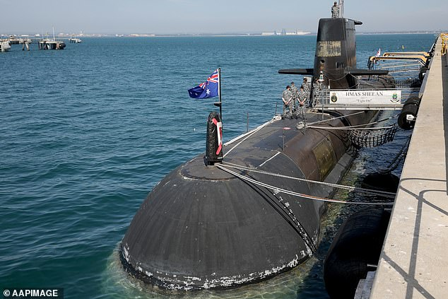 HMAS Sheean is one of theCollins class submarine based mainly built during the 1990s that will be replaced by the new French-built subs