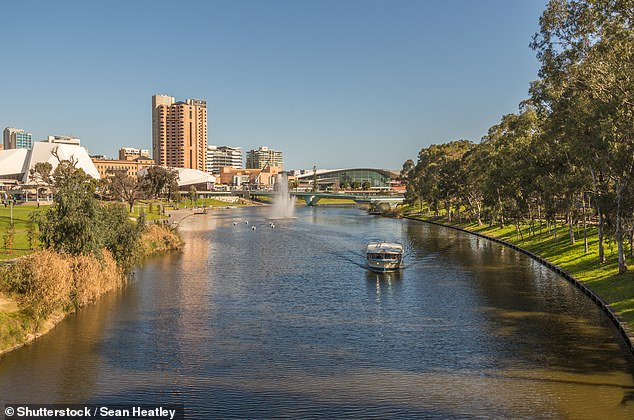 Over the past year, unit revenues also increased in Adelaide, increasing 4.1 percent (the photo shows the Torrens River)