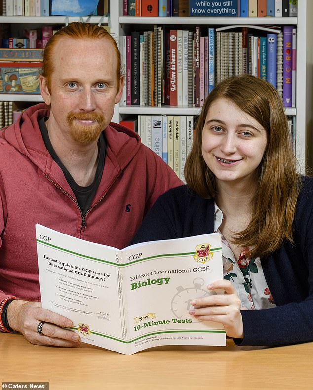 Jonathan Jenkyn and his daughter, Alice, were using his neck to demonstrate where the glands are when they noticed one was swollen. It later turned out to be a cancer they had spotted