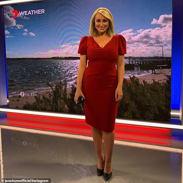 Phew! Jane reassured fans that they can still catch her weather reports at 4pm and 6pm on Seven News in Melbourne