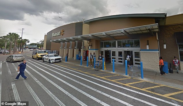 A security guard called deputies with the Hillsborough Sheriff's Department to the scene, where they learned that the woman had been roaming the store for approximately an hour with her son