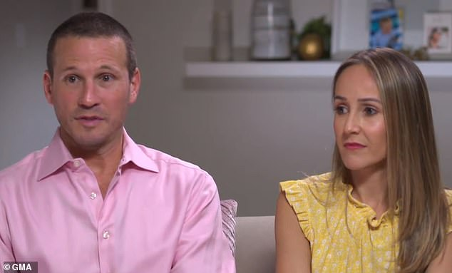 The Bachelorette stars JP Rosenbaum (left) and Ashley Hebert Rosenbaum (right) say he is mostly recovered following his battle with Guillain-Barré syndrome